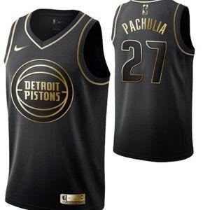 Detroit Pistons #27 Zaza Pachulia Swingman Jersey
